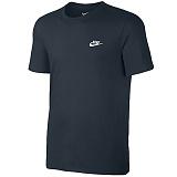 [나이키]NIKE NSW 클럽 엠브로이드 반팔 티셔츠 827021-475 네이비 _정품 국내배송