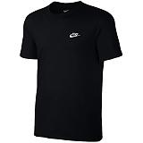 [나이키]NIKE NSW 클럽 엠브로이드 반팔 티셔츠 827021-011 블랙 _정품 국내배송