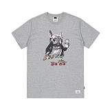 STIGMA - BULL DOG T-SHIRTS GREY 반팔티셔츠 라운드넥