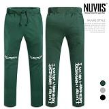 [뉴비스] NUVIIS - 무릎나염 일자핏 트레이닝팬츠 (MZ058LPT)