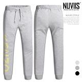 [뉴비스] NUVIIS - 세로프린팅 조거 트레이닝팬츠 (MZ056LPT)