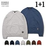 [로로팝] ★1+1★ Pitch [16s] 3 JJURI OVER FIT MTM 크루넥 스��셔츠 오버핏 맨투맨