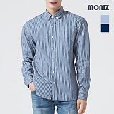 [모니즈] 브이 포켓 스트라이프 셔츠 SHT562