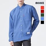 [모니즈] 줄지 스트라이프 셔츠 SHT554