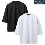 [해리슨] HARRSION 쿠션지 7부 헨리넥 CS1286