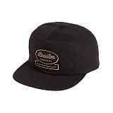 [브릭스톤]BRIXTON - DALE HP SNAPBACK (BLACK) 스냅백 모자