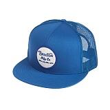 [브릭스톤]BRIXTON - WHEELER MESH CAP (BLUE/WHITE) 휠러 메쉬캡 모자