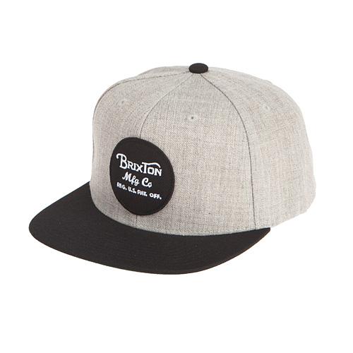 [브릭스톤]BRIXTON - WHEELER SNAPBACK (LIGH HEATHER GREY/BLACK) 휠러 스냅백 모자