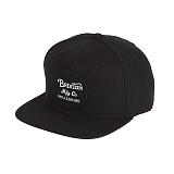 [브릭스톤]BRIXTON - WHEELER SNAPBACK (BLACK) 휠러 스냅백 모자