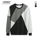 [탑보이] TOPBOY - 벤틀리 배색 맨투맨 (KBN240)