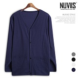 [뉴비스] NUVIIS - 무지 포켓 가디건 (SM027CD)