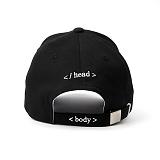 [슈퍼비젼]supervision - HTML BALL CAP BLACK 볼캡 야구모자