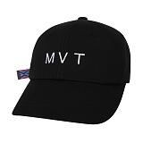 [Movito] MVT 로고 에스닉 롱스트랩 볼캡_MOBC667-AG1_BK