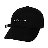 [Movito] MVT 코튼캔디 롱스트랩 볼캡_MOBC664-AG1_BK