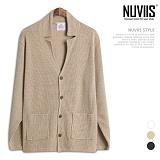 [뉴비스] NUVIIS - 자켓 카라 가디건 (RM057CD)