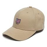 [그루브라임]Grooverhyme -2017 USA FLAG EMBROIFERY (BEIGE) [GC004F13BE] 야구모자 볼캡