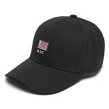 [그루브라임]Grooverhyme -2017 USA FLAG EMBROIFERY (BLACK) [GC004F13BK] 야구모자 볼캡