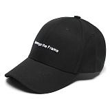 [그루브라임]Grooverhyme - 2017 REARRANGE THE FRAME CAP (BLACK) [GC013F13BK] 프레임 볼캡 야구모자