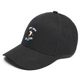 [그루브라임]Grooverhyme -2017 SURFER EMBROIDERY (BLACK) [GC018F13BK] 볼캡 야구모자