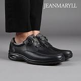 [장마릴 남성 캐주얼] jeanmaryll JM003 블랙 천연소가죽/에어쿠션/와이어/슬립온/로퍼