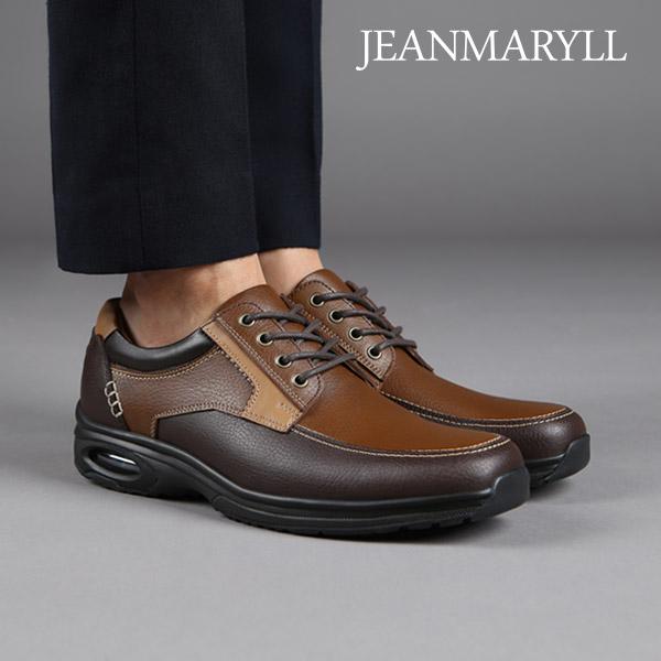 [장마릴 남성 캐주얼] jeanmaryll JM001 모카 천연소가죽/에어쿠션/로퍼