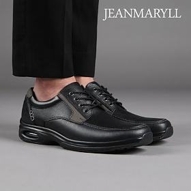 [장마릴 남성 캐주얼] jeanmaryll JM001 블랙 천연소가죽/에어쿠션/로퍼