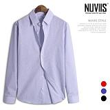 [뉴비스] NUVIIS - 컬러 잔체크 긴팔셔츠 (JS026SH)