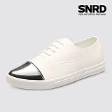 [SNRD 토캡 여성슬립온] SN168 화이트