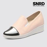 [SNRD 5.5cm 키높이 토캡 여성슬립온] SN167 핑크