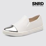 [SNRD 토캡 여성슬립온] SN166 화이트