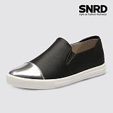 [SNRD 토캡 여성슬립온] SN166 블랙