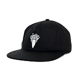 [크룩스앤캐슬] Crooks and Castles The Bandusa Snapback in Black 스냅백