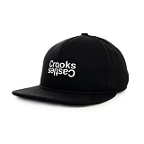 [크룩스앤캐슬] Crooks and Castles The Opposite Snapback in Black 스냅백