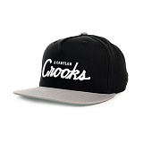 [크룩스앤캐슬] Crooks and Castles The Team Crooks Snapback in Black and Cement 스냅백