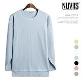 [뉴비스] NUVIIS - 쥬리 언밸런스 컬러 긴팔 티셔츠 (ZA089TS)