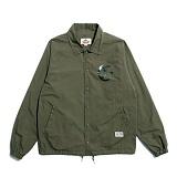 [세인트페인]SAINTPAIN - SP GRAVESTONE COACH JKT-KHAKI 코치자켓 재킷