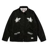 [세인트페인]SAINTPAIN - SP HOMESICK SVNR COACH JKT-BLACK 스카쟌 수베니어 코치자켓 재킷