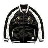 [세인트페인]SAINTPAIN - SP HOLLA SVNR JKT-BLACK 스카쟌 수베니어 자켓 재킷