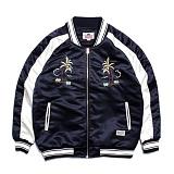 [세인트페인]SAINTPAIN - SP HOLLA SVNR JKT-NAVY 스카쟌 수베니어 자켓 재킷