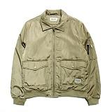 [세인트페인]SAINTPAIN - SP HL76 A-1 JKT-BEIGE 자켓 재킷