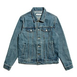 [세인트페인]SAINTPAIN - SP JERRY DENIM WORK JKT-BLUE 데님 워크 자켓 청자켓 재킷
