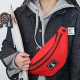 [에이비로드]ABROAD - Basic Waist Bag (red) 힙색 웨이스트백