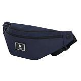 [에이비로드]ABROAD - Basic Waist Bag (navy) 힙색 웨이스트백