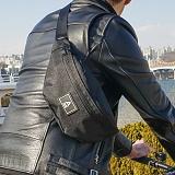 [에이비로드]ABROAD - Basic Waist Bag (black) 힙색 웨이스트백
