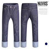[뉴비스] NUVIIS - 워크 데님 롤업 청바지 (SP057LJR)