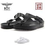[보이런던] boylondon 남녀공용 지제 에바 레귤러 조리 슬리퍼(블랙) 649-윙조리 남자 여자 버켄 여름 신발