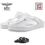[보이런던] boylondon 남녀공용 지제 에바 레귤러 조리 슬리퍼(화이트) 649-윙조리 남자 여자 버켄 여름 신발