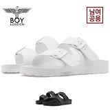[보이런던] boylondon 남녀공용 아리조나 에바 레귤러 슬리퍼(화이트) 650-썸머 남자 여자 버켄 조리 여름 신발