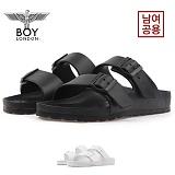 [보이런던] boylondon 남녀공용 아리조나 에바 레귤러 슬리퍼(블랙) 650-썸머 남자 여자 버켄 조리 여름 신발