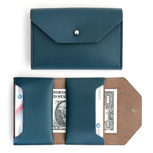[퍼니메이드]폴더블 카드지갑 - 다크그린